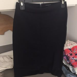 theory skirt for work
